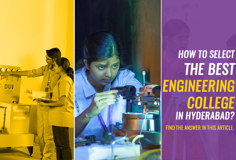 best engineering college in Hyderabad